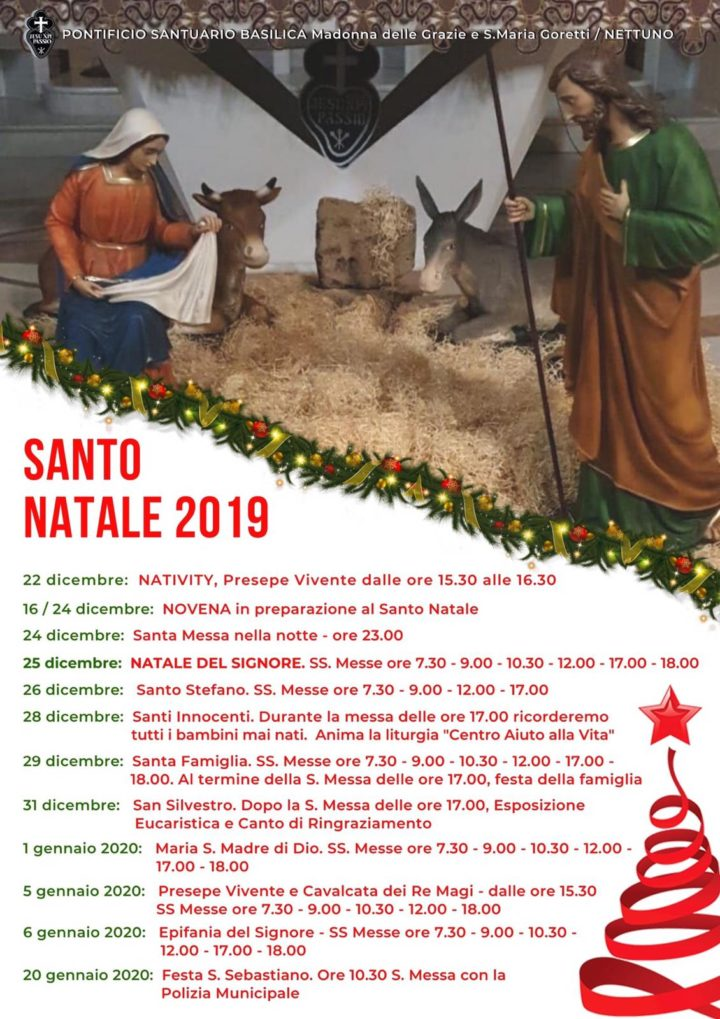 Natale al Santuario 2019