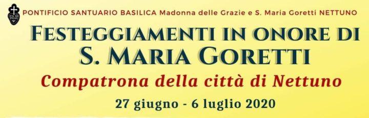 Eventi Liturgici in Onore della Compatrona della Città di Nettuno S. Maria Goretti
